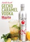 Gecko Caramel Vodka Mojito, Gecko Cocktails